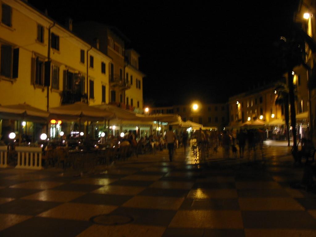 Abends am Marktplatz