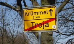 ... es ging durch geschichtsträchtige Orte in Richtung Müritz.